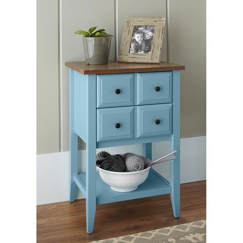 10 Spring Street Alton Drawer Cabinet, Blue