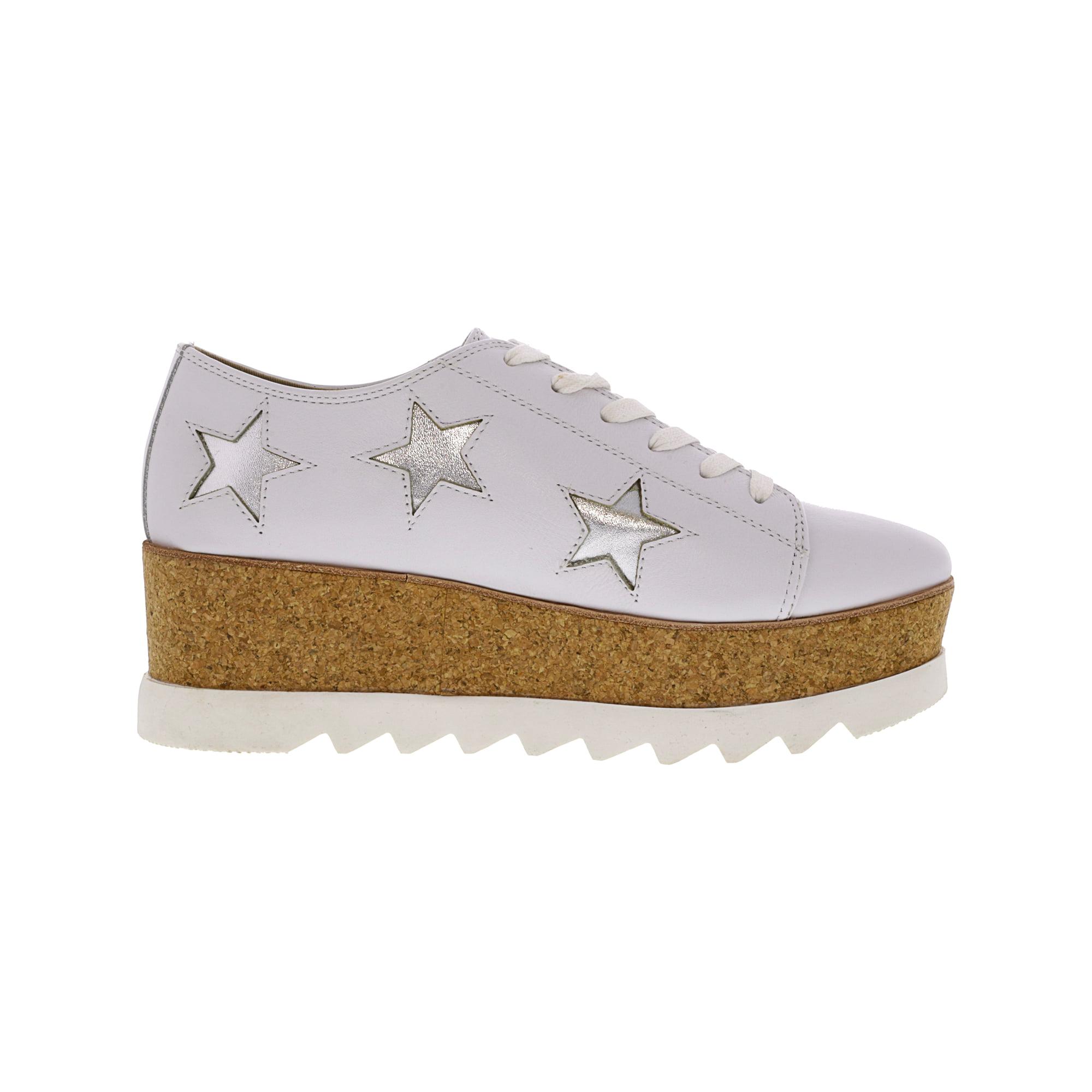 b5952fecdc7 Steve Madden Women s Korrie-S Nude Multi Ankle-High Leather Fashion Sneaker  - 5.5M