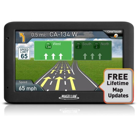 Refurbished Magellan Roadmate 5520 Lm 5  Touch Portable Car Gps System W  Free Lifetime Maps