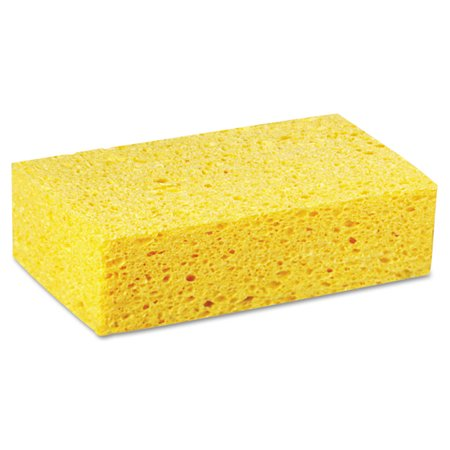 Large Cellulose Sponge, 4 3/10 X 7 4/5, Yellow, 24/carton