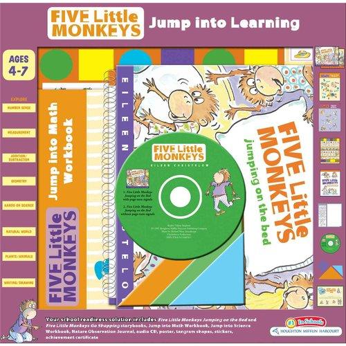 Five Little Monkeys Jump into Learning
