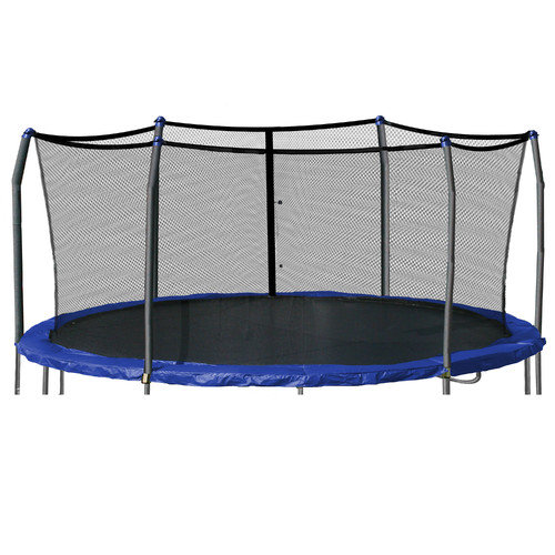 Skywalker Trampolines 17' x 15' Oval Enclosure Netting Using 6 Poles