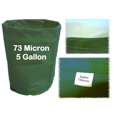 5 Gallon 73 Micron Herbal Bag - Bubble Water & Ice Process - Wine Filter Bags