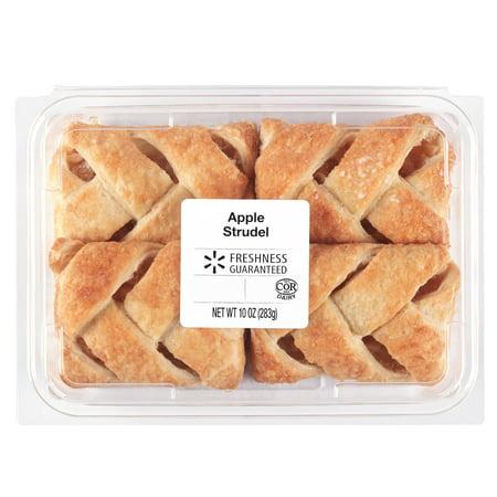Freshness Guaranteed Apple Strudel 10 Oz Walmartcom