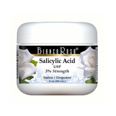 Salicylic Acid Usp  Beta Hydroxy Acid Bha   3     Salve Ointment   Maximum Strength  2 Oz  Zin  428105