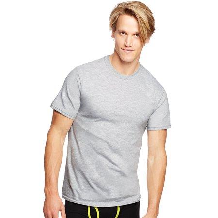 Men's Classics Traditional Fit ComfortSoft 3 Pack Tagless Crewneck Undershirt