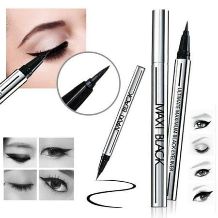 1PC Ultimate Black Liquid Eyeliner Long-lasting Waterproof Eye Liner Pencil Pen Nice Makeup Cosmetic