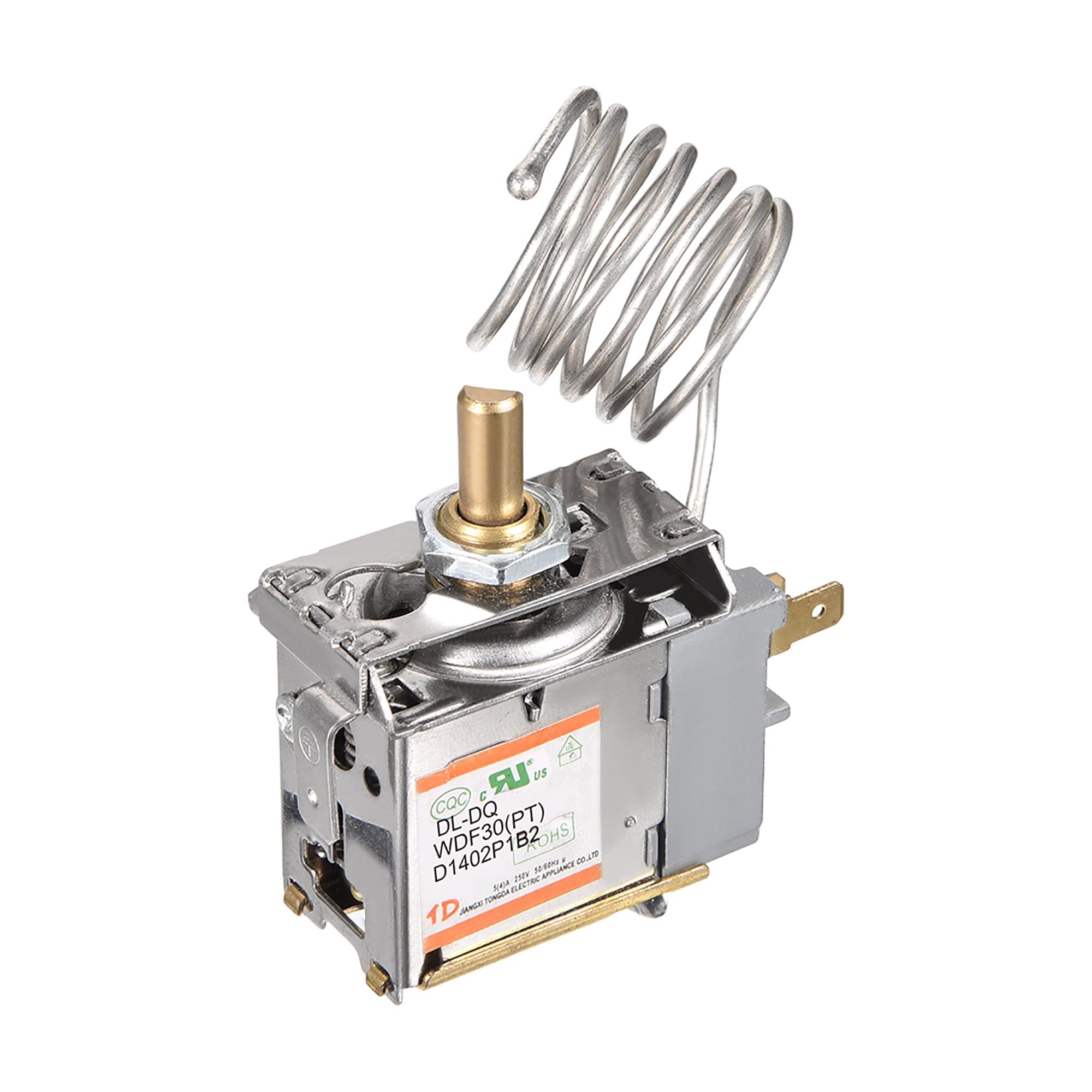 Refrigerator Thermostat Cord Freezer Refrigeration Temperature Controller 2 Pin 5(4)A