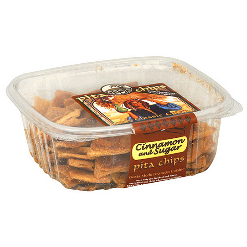 Oasis Classic Cuisine Cinnamon And Sugar Pita Chips, 7 oz (Pack of 12)