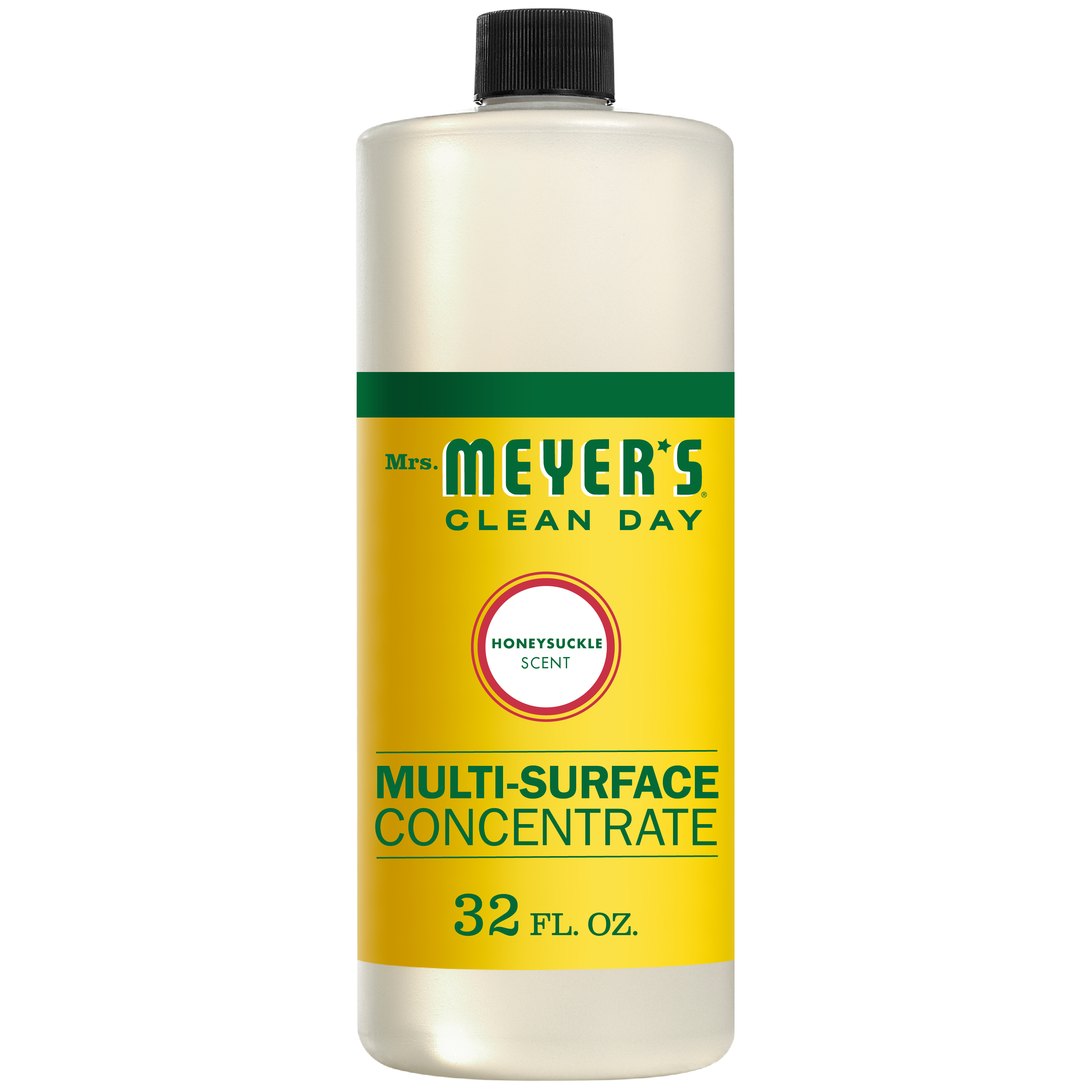 Mrs. Meyer's Clean Day Multi-Surface Concentrate, Honeysuckle, 32 fl oz