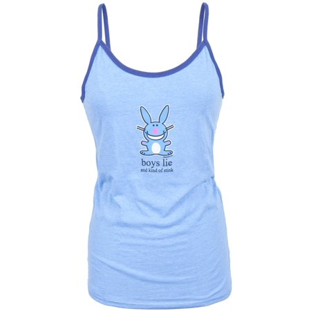 Junior Bows (Happy Bunny - Boys Lie Juniors Camisole )