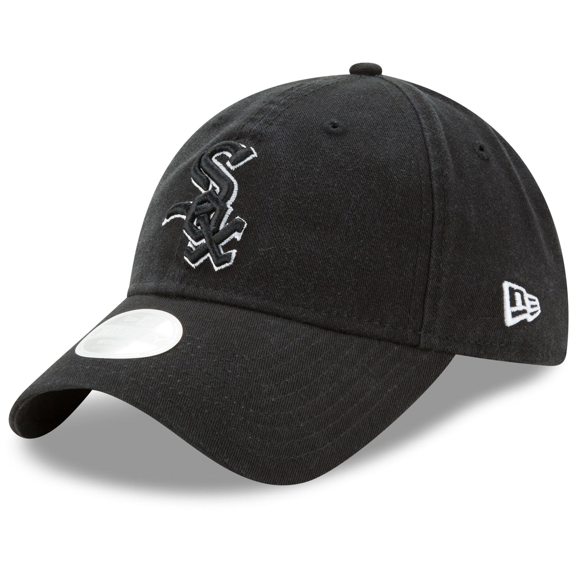 Chicago White Sox New Era Women's Preferred Pick 9TWENTY Adjustable Hat - Black - OSFA