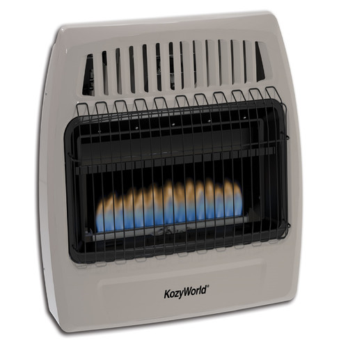 KozyWorld 30,000 BTU Natural Gas Wall Mounted Heater