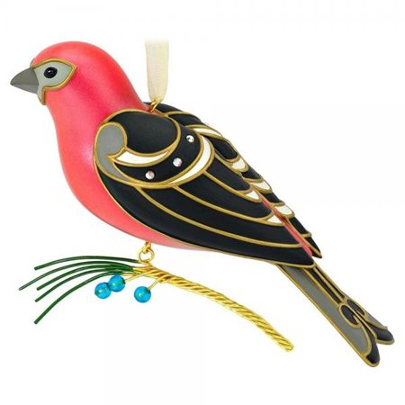 Hallmark 2016 Christmas Ornaments PINE GROSBEAK - 12TH SERIES