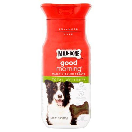 Milk-Bone Bonjour quotidien de vitamine Treats Total Wellness - 30 CT
