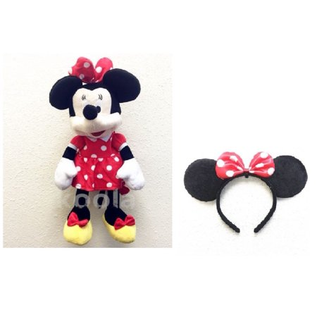 MINNIE MOUSE PLUSH BACKPACK! FIGURE STUFFED TOY DISNEY 18