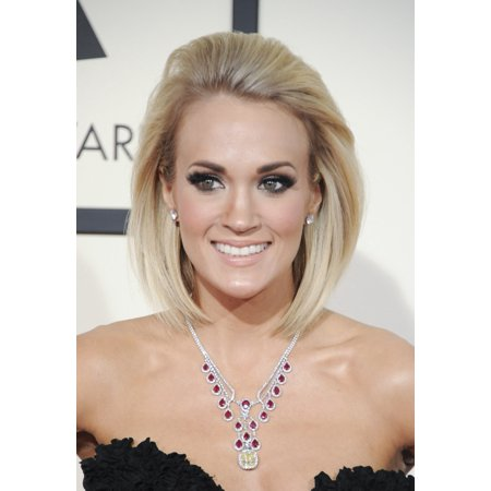 Carrie Underwood At Arrivals For 58Th Annual Grammy Awards 2016   Grammys 1 Canvas Art     16 X 20