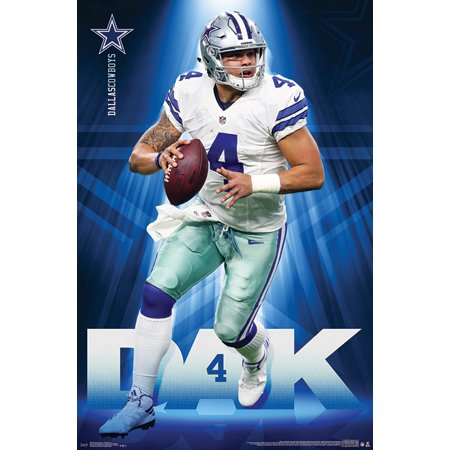 Dallas Cowboys - Dak Prescott (Dallas Cowboys Cheerleaders Uniform For Sale)