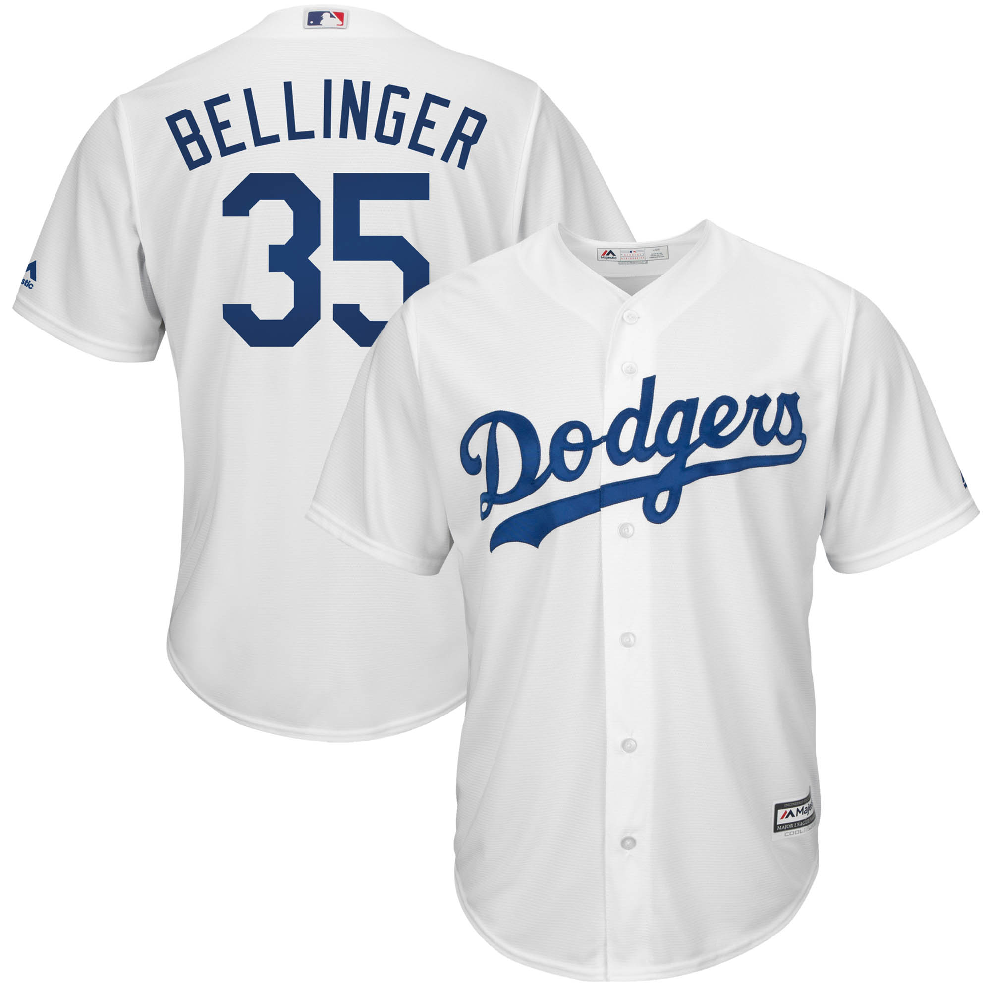 Cody Bellinger Los Angeles Dodgers Majestic Cool Base Player Jersey - White