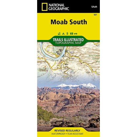 National Geographic Maps: Trails Illustrated: Moab South - Folded