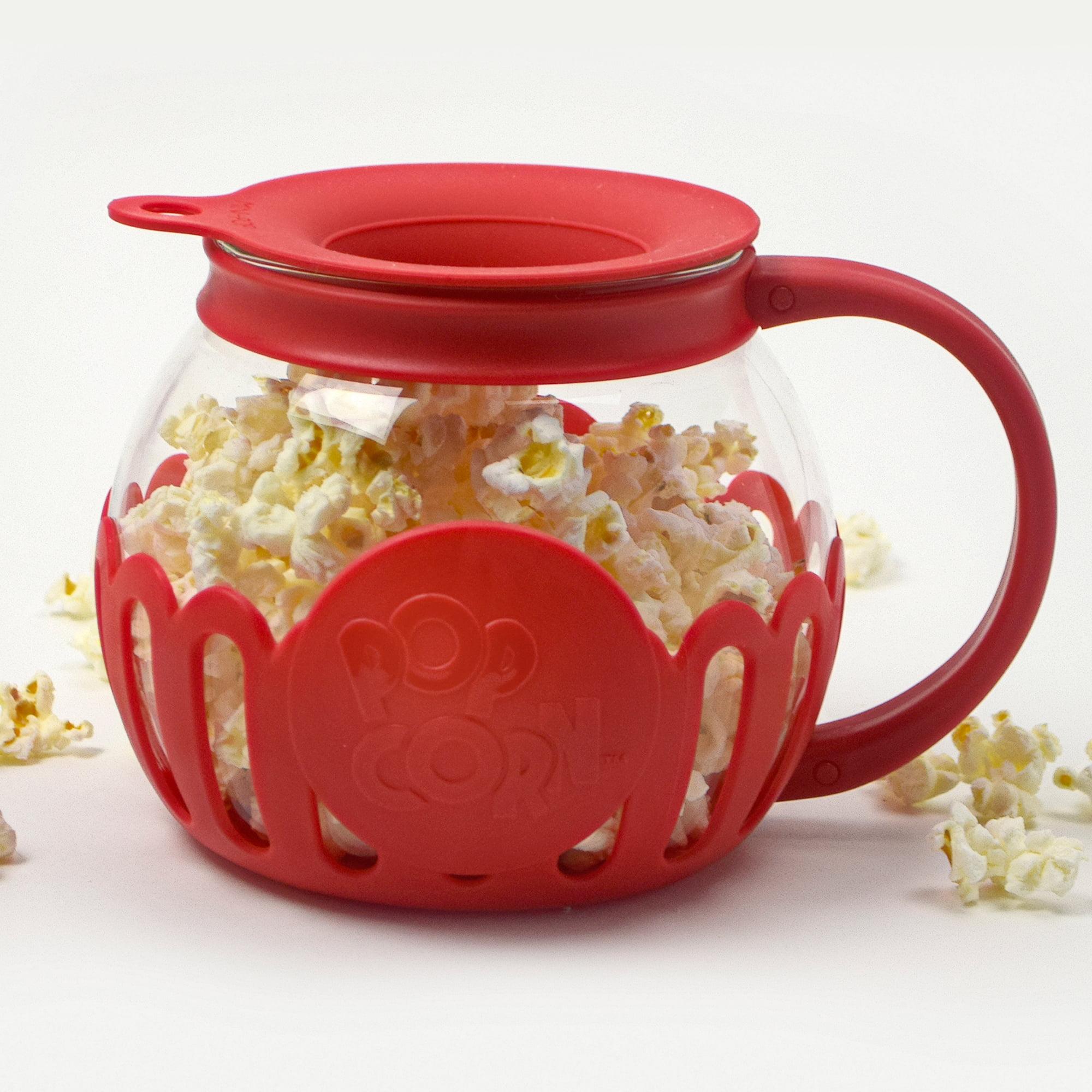 Tasty 1 5qt Micro Popcorn Popper Caged Red Walmart Com