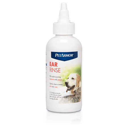 PetArmor Ear Rinse for Dogs and Cats, 4 oz. (Ugg For Dogs)