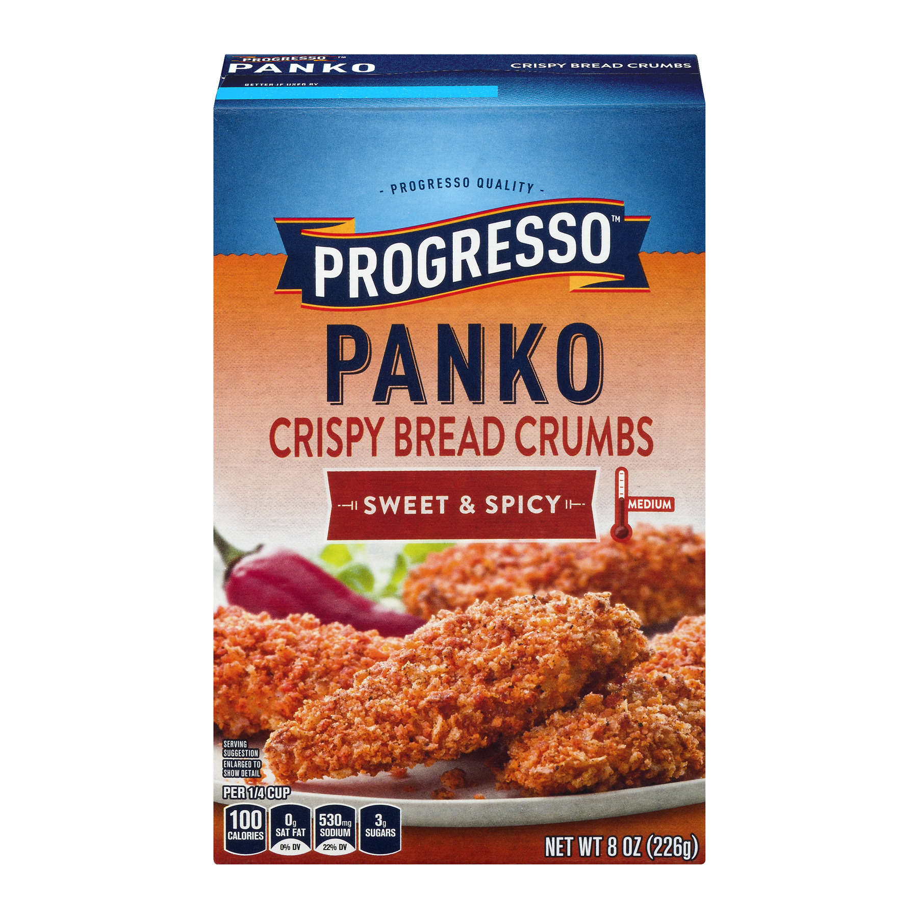 Progresso Panko Crispy Bread Crumbs Sweet & Spicy, 8.0 OZ