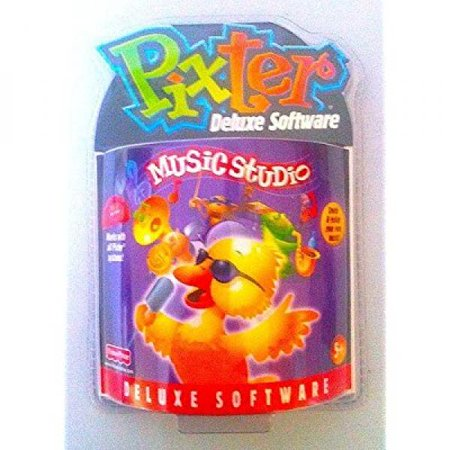 pixter software: music studio deluxe expansion cartridge by fisher-price