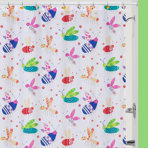 Creative Bath Cute As A Bug Polyester Shower Curtain