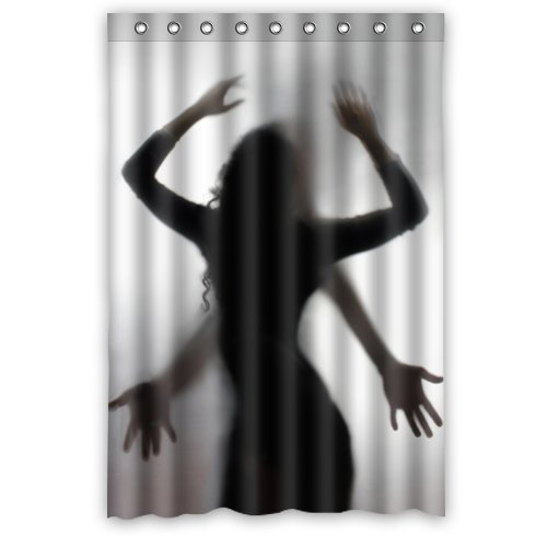 Sexy shower curtain