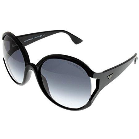 25043d4da850 Emporio Armani - Emporio Armani Sunglasses Womens EA9612 S D28 Black Round  Size  Lens  Bridge  Temple  57-18-130 - Walmart.com