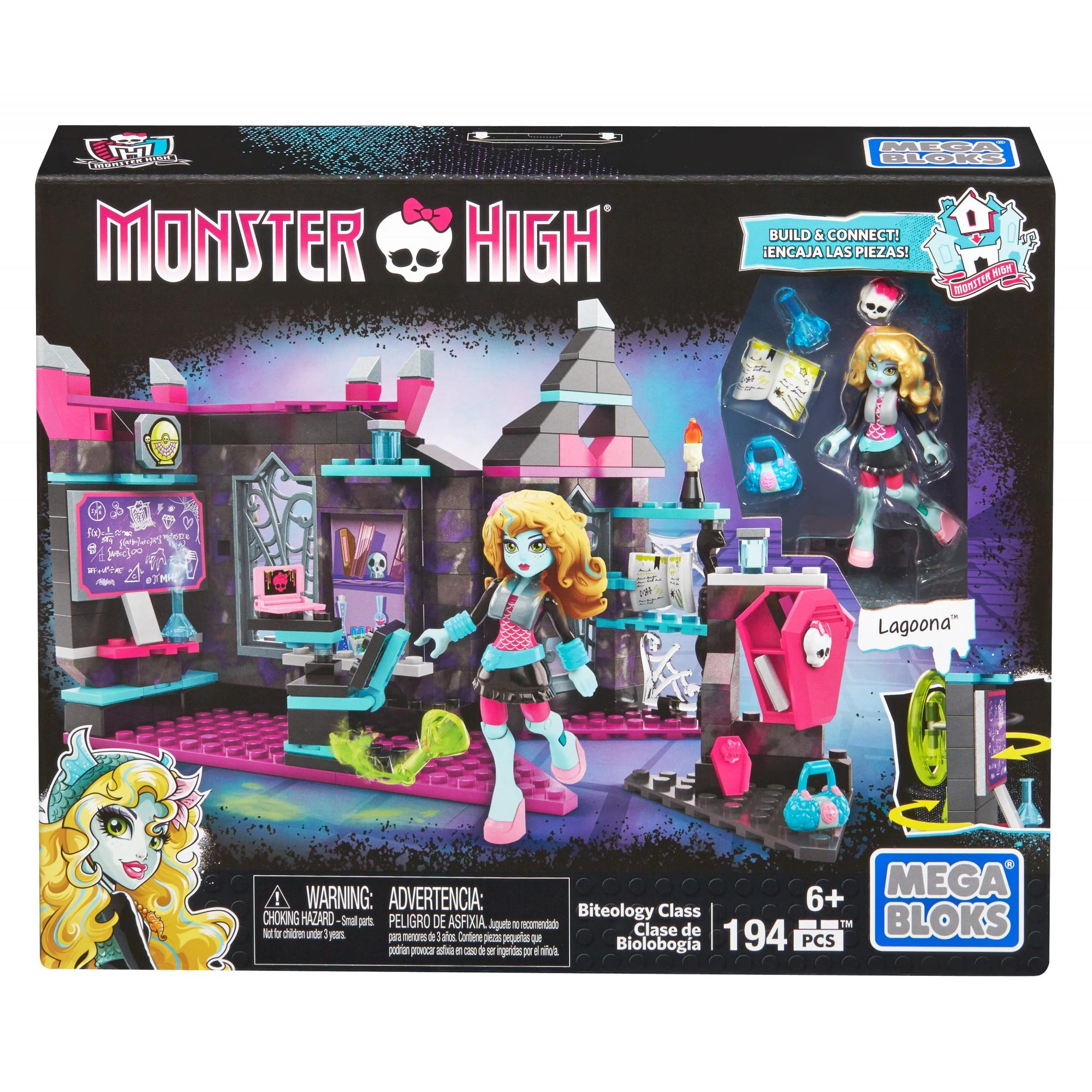Mega Bloks Monster High Biteology Class