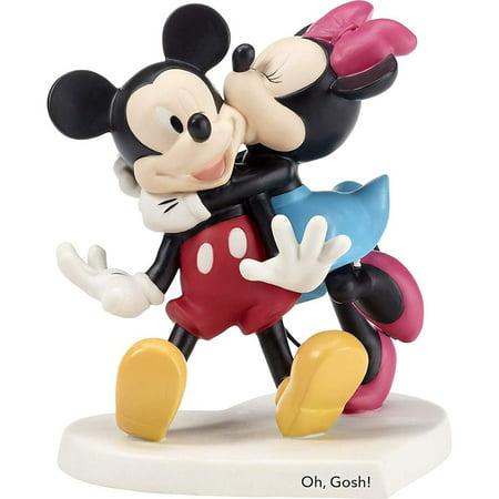 Precious Moments Disney 182704 Oh Gosh Mickey and Minnie Figurine