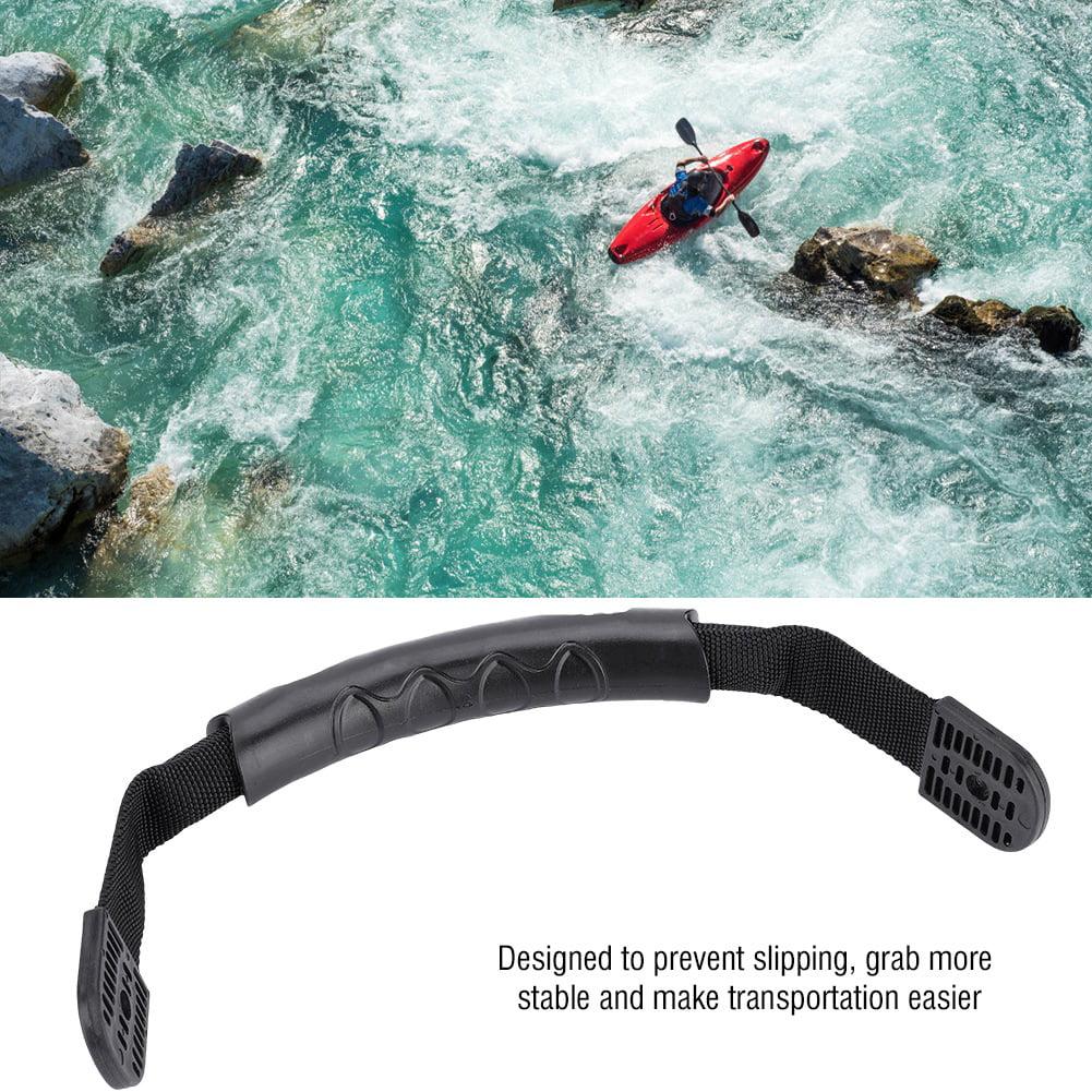 2pcs Black Side Mount Carry Transport Handle Kayak Canoe Boat Accessories