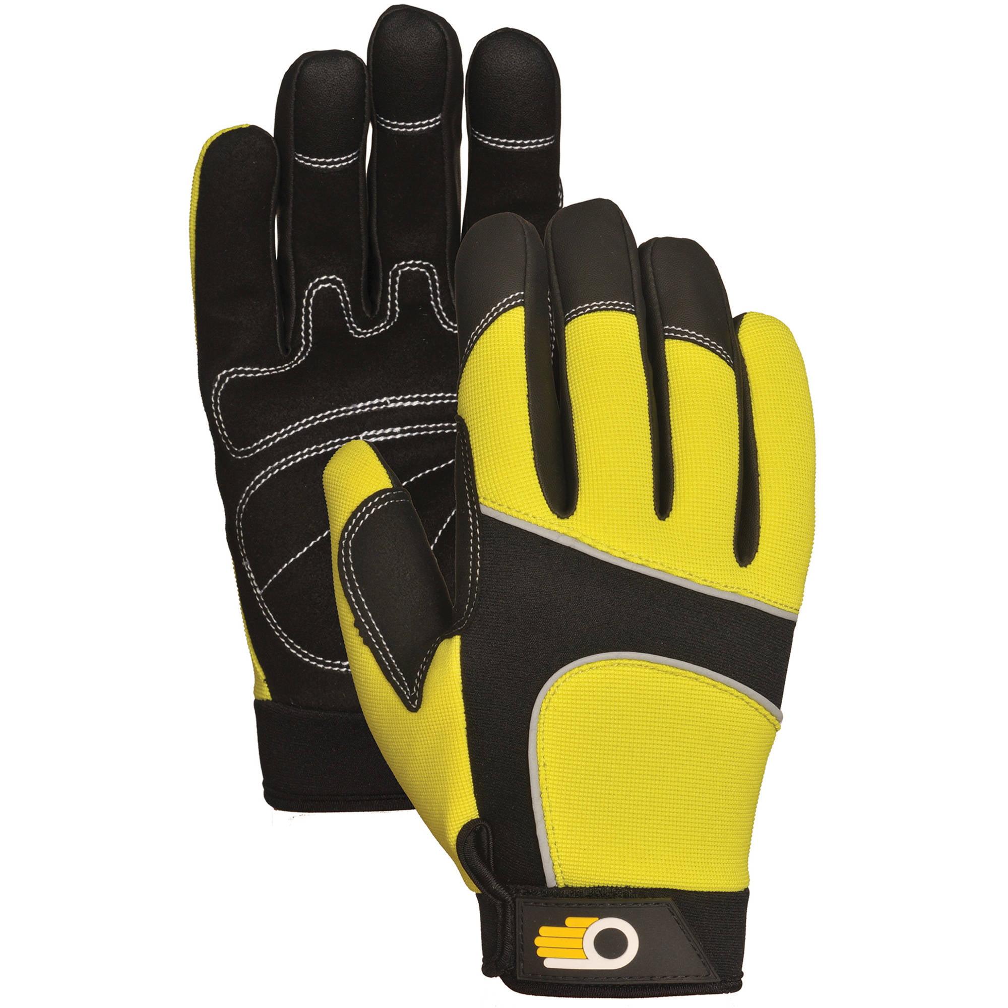 Bellingham Glove C7782HVXL XL Men's Performance Hi Viz Synthetic Palm Gloves