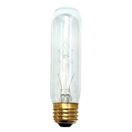 - Bulbrite 784125 - B25T10C Clear Tubular Picture Light Bulb