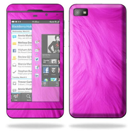 Furberries Furberries (Mightyskins Protective Skin Decal Cover for BlackBerry Z10 Cell Phone wrap sticker skins Pink)