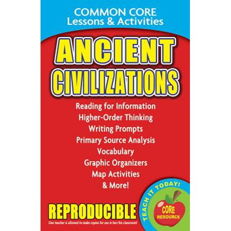 Ancient Civilizations - Common Core Lessons &