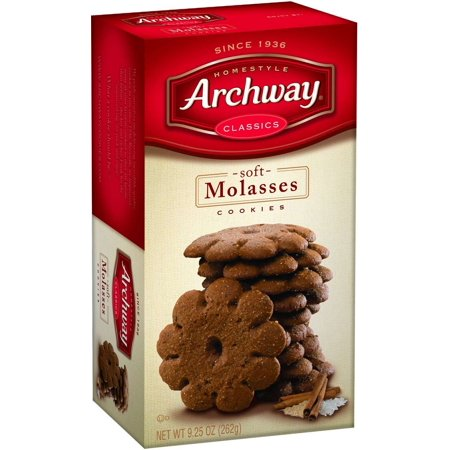 Archway Classics Cookies  Soft Molasses  9 5 Oz