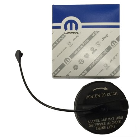 Mopar Part 52030389AB Fuel Filler Gas Cap includes tether for Dodge Challenger 2011-2018 ()