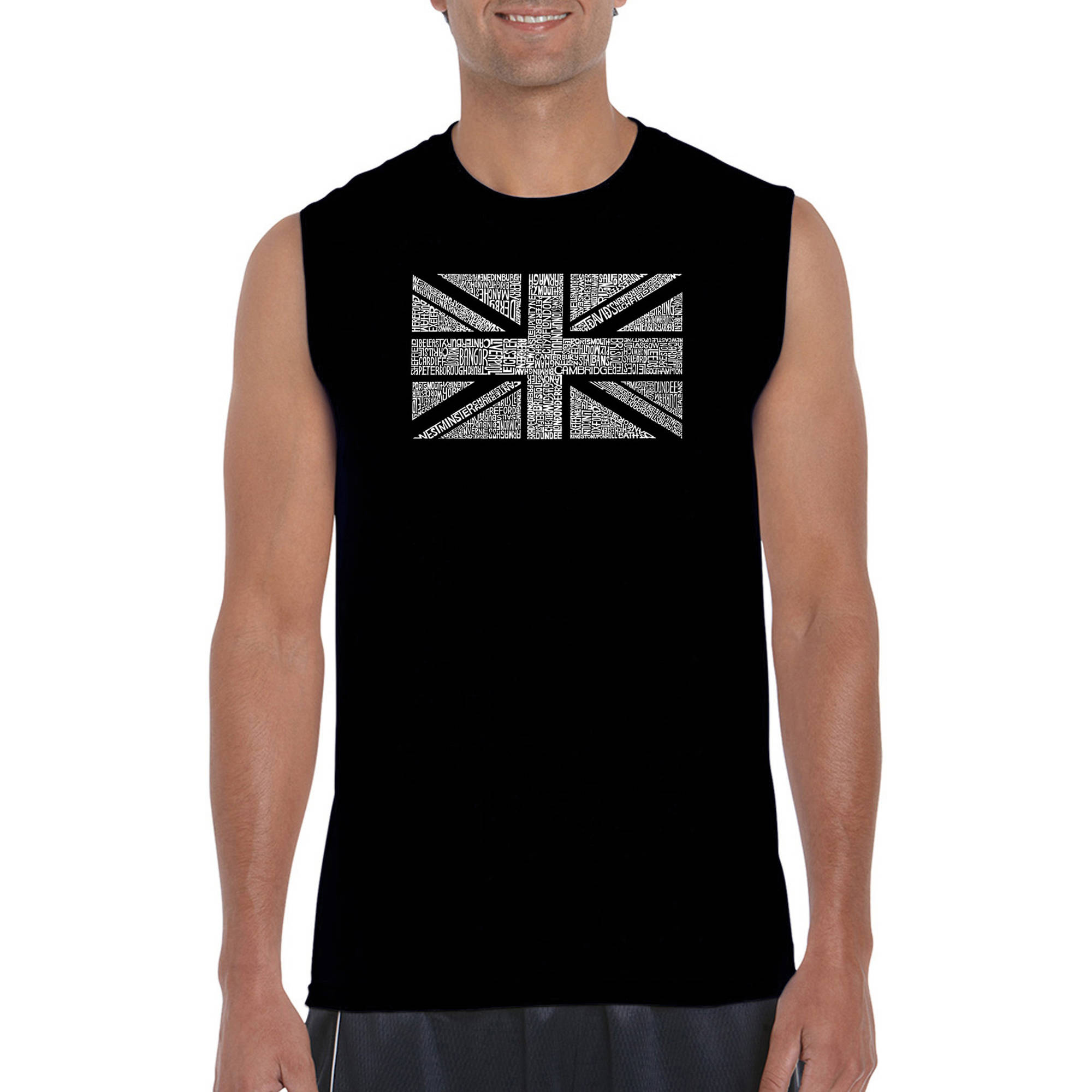 Get Carter Union Jack Cool T-SHIRT ALL SIZES # Black