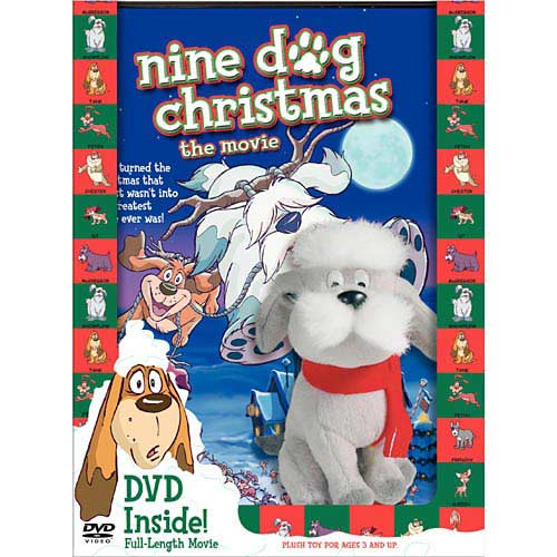 Nine Dog Christmas (With Plush Toy)