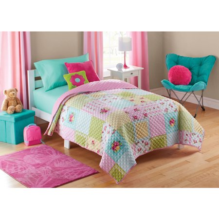 Mainstays Kids Shabby Patch Quilt - Walmart.com : kids quilt - Adamdwight.com