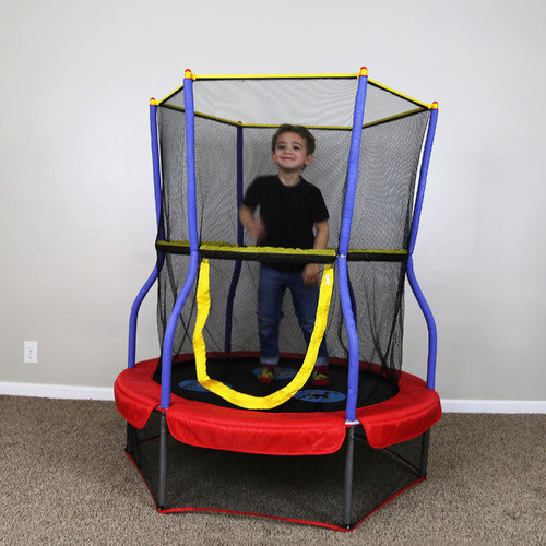 Skywalker Trampolines Zoo Adventure Bouncer 48'' Trampoline with Enclosure