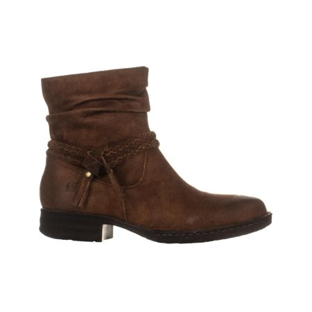 Born Ouvea Braid Ankle Boots, Rust - image 4 of 6
