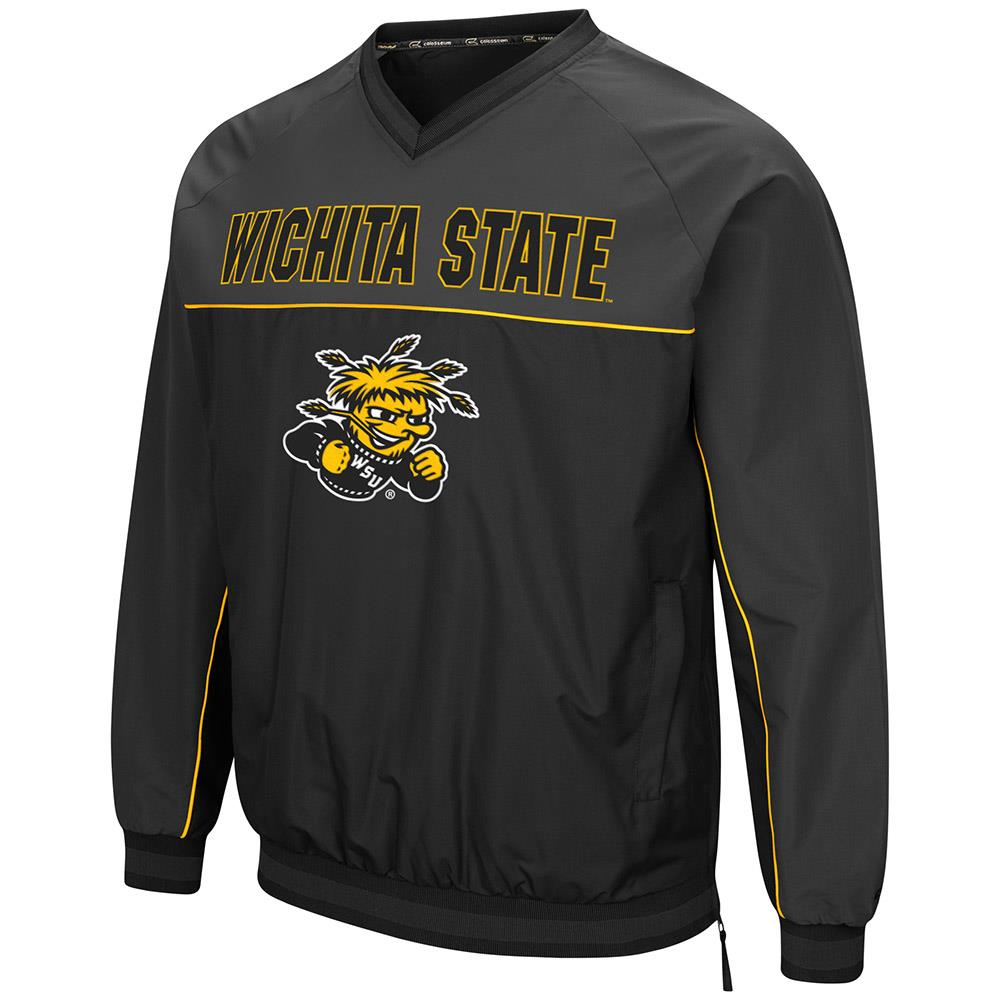 Mens Wichita State Shockers Windbreaker Jacket L by Colosseum