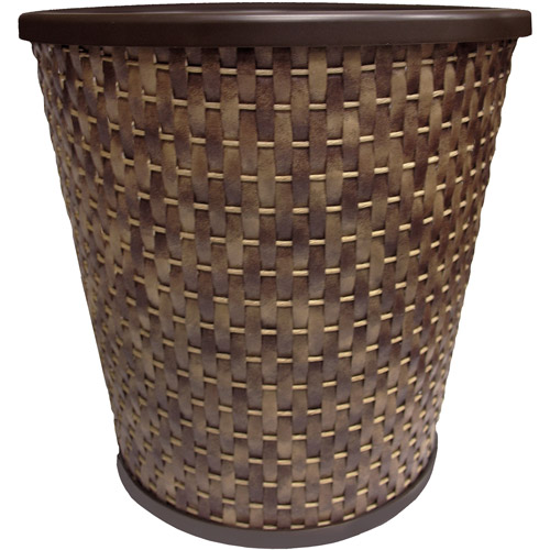 Better Homes and Gardens Palm Cove Wastebasket