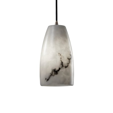 Justice Designs LumenAria Small 1-LT Pendant - Polished Chrome - FAL-8816-28-CROM