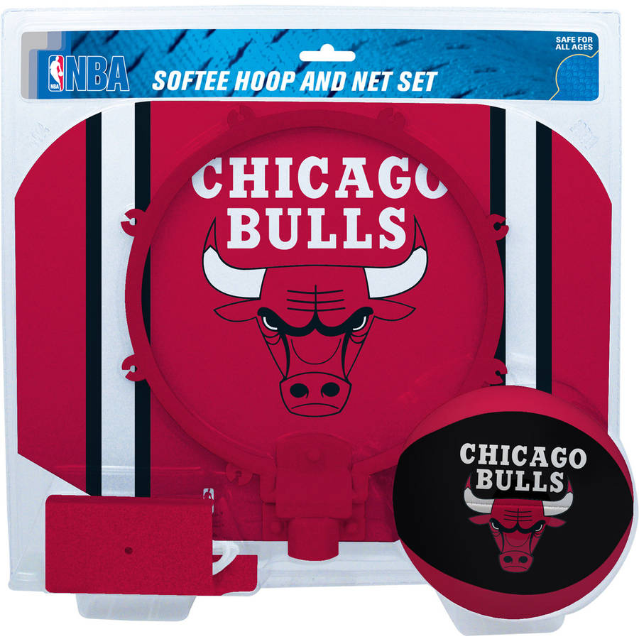 Rawlings NBA Slam Dunk Softee Hoop Set Chicago Bulls