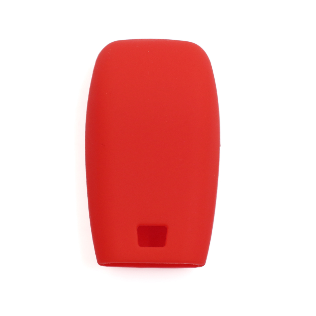 Red Silicone Keyless Entry Car Remote Key Fob Case Protective Cover for Benz - image 2 of 3